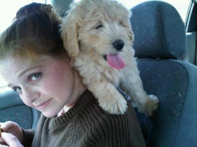 Me and Miss Hunny - First Car Ride