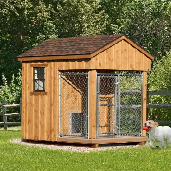 Diy dog houses dog house plans aussiedoodle and for Amish dog kennels for sale