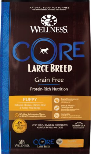 Wellness Core Large Breed Puppy - Best Large Breed Puppy Food Formulas