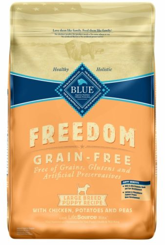 Blue Buffalo Freedome Large Breed Puppy Dog Food - Best Large Breed Puppy Food