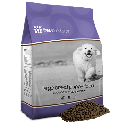 LIFES ABUNDANCE LARGE BREED PUPPY FOOD