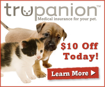 Trupanion Veterinarian Approved Pet Insurance!