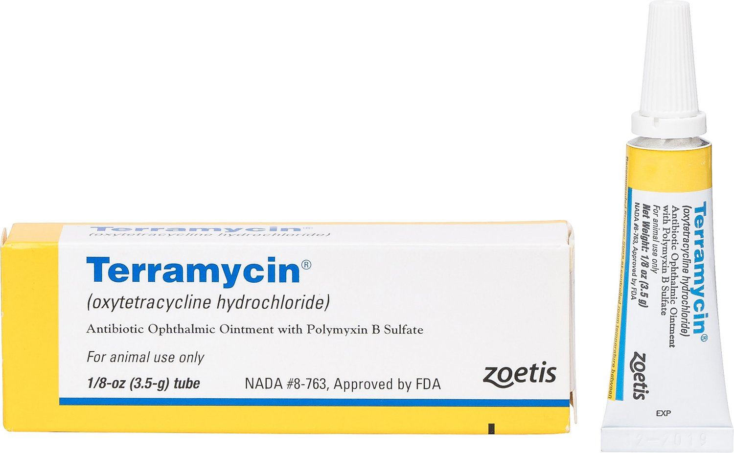 Terramycin eye ointment for dogs eye infections