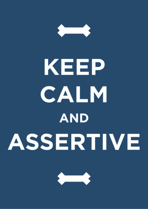 Keep Calm and Assertive