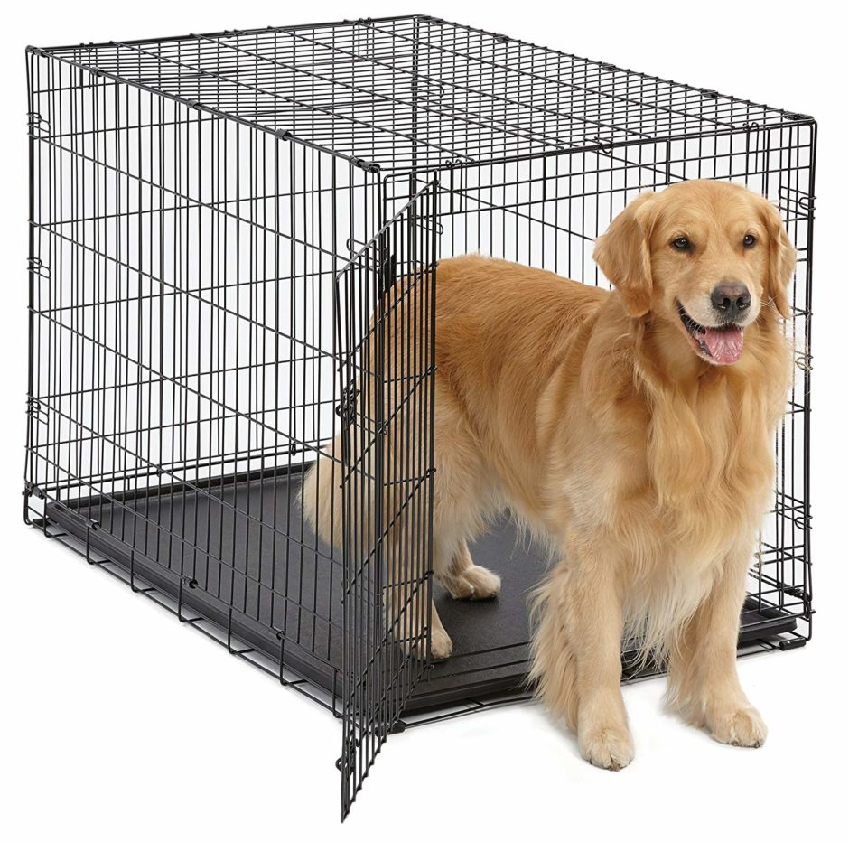 Midwest Crate Crate 42 inch for Pets Dog Crate | iCrate Single Door & Double Door