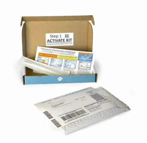 Canine Health Check - Genetic Testing Kit