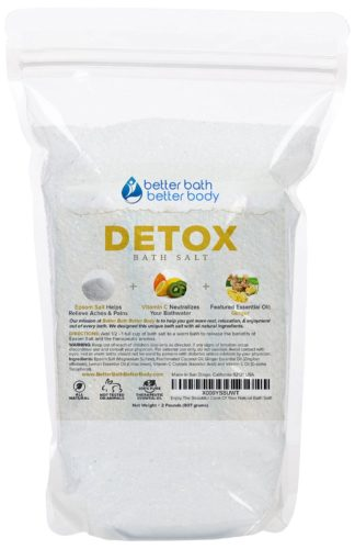 epsom salt foot soak detox