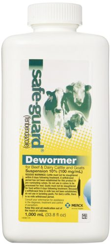 Safe-Guard Goat Dewormer 1000 ML Bottle on Amazon