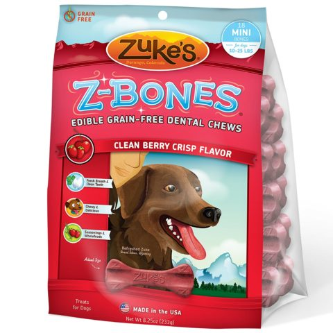 Zukes Mini Dental Chews for Puppies