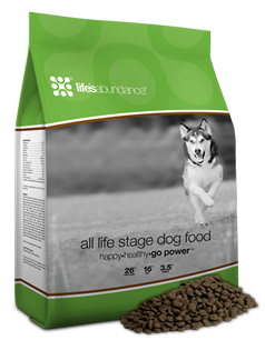LIFE ABUNDANCE ALL LIFE STAGES FORMULA WITH GRAINS - PEA FREE