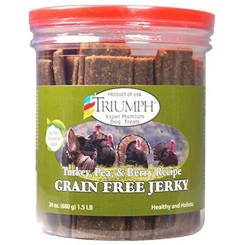 Triumph Dog Turkey, Pea, & Berry Grain Free Jerky