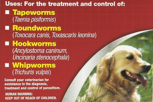 Excel Safe-Guard Dewormer Dosage Chart 8in1 Safe-Guard Canine Dewormer for Dogs, 3-Day Treatment