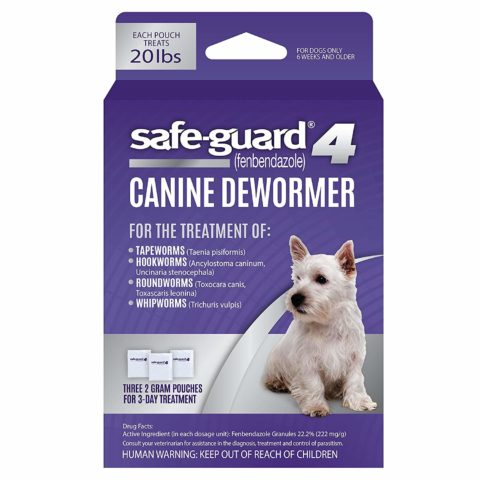 Safeguard for Goats Dewormer Dosage Chart - Dewormer for Small 10 lb Size Dogs and Puppies
