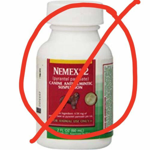 DOSAGE CHART NOT FOR NEMEX 2