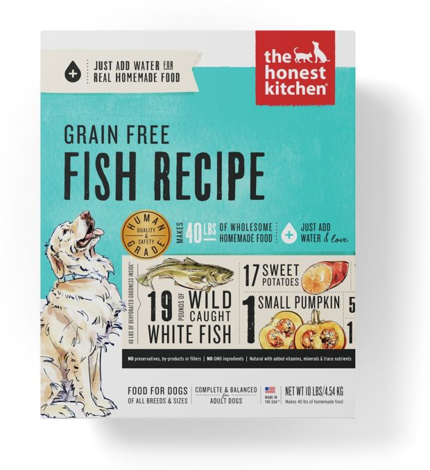 Honest Kitchen Fish Formula Dehydrated dog food
