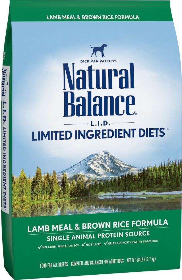 Natural Balance Limited Ingredient Diets – Lamb Meal & Brown Rice