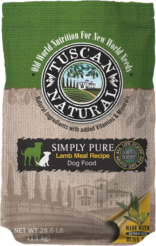 Tuscan Natural Lamb Pea Free Dog Food