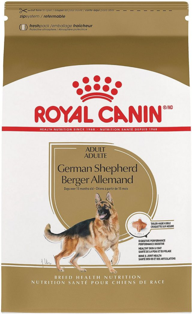 Royal Canin German Shepherd Pea Free Dog Food