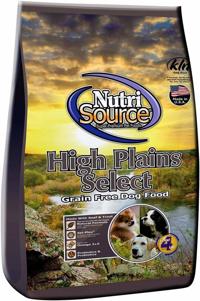 Nutri Source High Plains Pea Free Dog Food
