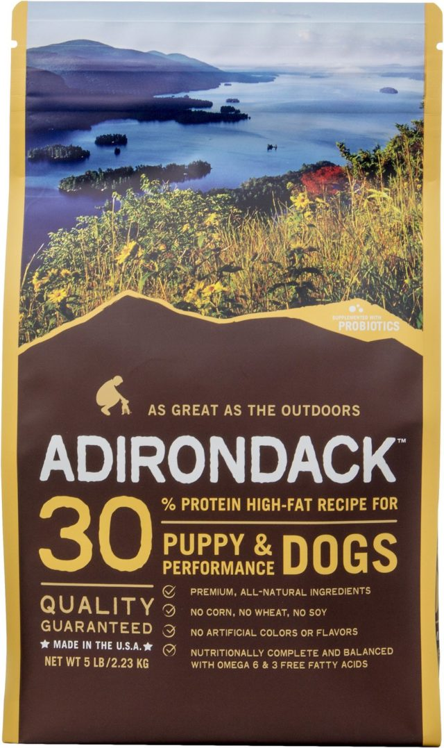 ADIRONDACK PEA FREE PUPPY FOOD