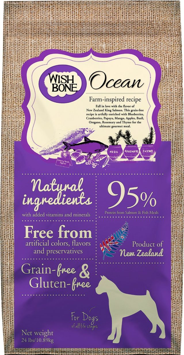 Wish Bone Pea Free Dog Food