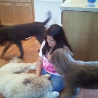 My daughter Tianna and our Doods